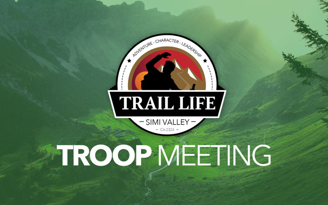 Trail Life-Meeting