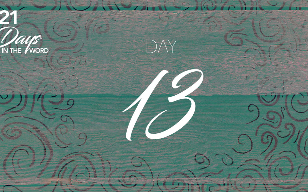 Day 13: The Persecuted Church